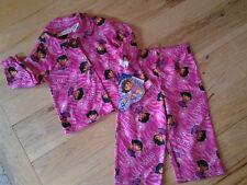 NWT DORA THE EXPLORER PINK 2 PIECE PAJAMA SET Sz 18 Mo Infant Girls