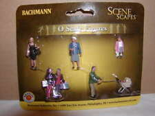 Bachmann Scene Scapes 33159 Strolling PeopleFigure Pack MIB O 027 6 figures New