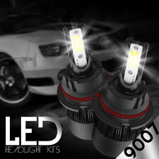 XENTEC LED HID Headlight kit 9007 HB5 White for 2002-2005 Ford E-350 Club Wagon