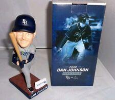 "MLB Dan Johnson Tampa Bay Rays 20th Anniversary Bobblehead 7"" NEW great pumpkin"