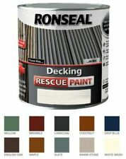 Ronseal Decking RESCUE Paint  - Revive Protect Deck Hard Soft Wood - **New 2021