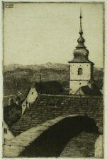 MARTIN ERICH PHILIPP - Radierung 1909 - Hiltpoltstein