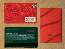 Starbucks Card 2020 New Year of the Rat w sleeve Limited Edition NEW Unused MINT