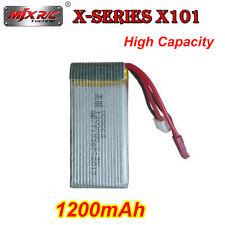 MJX X101 RC Quadcopter FPV Camera Drone Spare Parts 7.4v 1200mah Lipo Battery