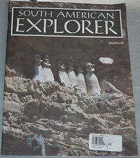 South American Explorer Magazine Number 41 August 1995 My Dinner With Andre