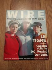 THE WIRE MAGAZINE # 215 JANUARY 2002 EXCELLENT CONDITION