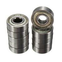 10pcs 8 x 22 x 7 mm ruedas de lamina de rodamientos de monopatin de moto AB D6L3