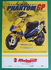 MALAGUTI SCOOTER F12 PHANTOM GP  LIQUID COOLED DEPLIANT BROCHURE
