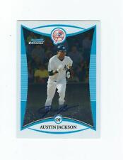 2008 Bowman Chrome Prospects #BCP246 Austin Jackson AU AUTO YANKEES