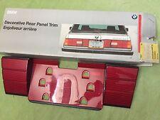 Genuine BMW E30 325i, M3, facelift Rear Heckblende Trim 82 12 9 401 143 NOS RARE