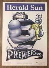 2009 Geelong Cats Premiership Poster Knight / WEG 100% Original