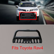 Nudge Bar for Toyota Rav4 3'' Black  2013-2015 With Removable Skid Plate