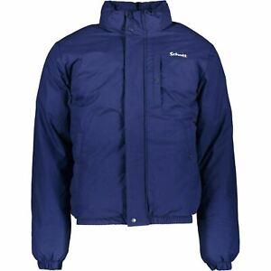 SCHOTT Men's HARLEM Padded Warm Winter Jacket, Royal Blue, size S chest 35-37 in