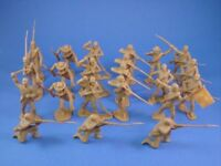 MARX CTS Civil War Toy Soldiers CONFEDERATE BUTTERNUT INFANTRY RECAST FREE SHIP