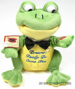 """RARE JEREMIAH FROG PBC INTL. CHANTILLY LANE MUSICALS """"WHEN YOU WISH UPON A STAR"""""""