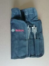 Bosch wood flat bits drill set