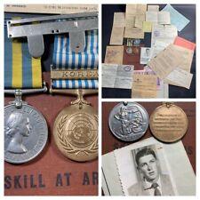 More details for korean war medals & documents hinchcliffe 22697427 duke of wellingtons regiment