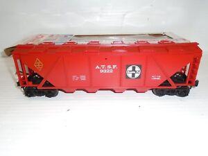 O SCALE Lionel 6-9322 ATSF Hopper Famous American Railroad Series