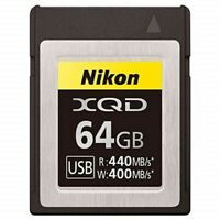 NEW Nikon MC-XQ64G XQD Memory Card 64GB for Z7 Z6 D850 D500 from JAPAN