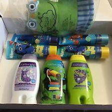 8 Item Children'S Bath Set~Body Washes, Bubble Bath, Shampoo/Conditioner & Mit
