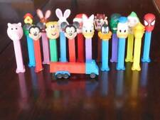 Pez Dispensers Footed Lot of 17