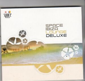 Various Artists : Space Ibiza Lounge Deluxe. (2010) Digipak CD album