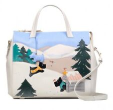"""SALE! RADLEY RRP £239 """"AT HOME IN THE SNOW"""" LARGE ZIP MULTIWAY BAG & COIN PURSE"""