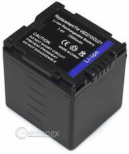 Hi-Capacity Battery for Panasonic CGA-DU21 Hitachi DZ-MV550A DZ-HS300A DZ-BX35A