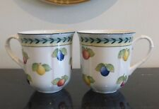 Villeroy and Boch French Garden Fleurence Mugs