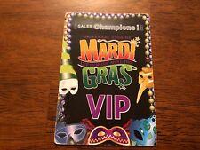Universal Studios - Mardi Gras - VIP Pass - Black
