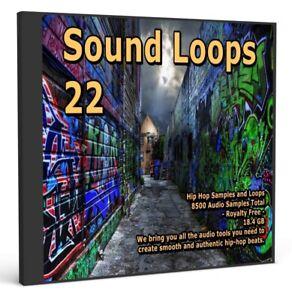 Sound Loops 22 Hip Hop Collection 5000 WAV Loops Music Sample Packs Audio Loops