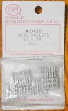SS Ltd. HO #2455 Wood Pallets Lg & Sm (3 each)