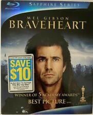 Braveheart: Sapphire Series Blu-ray Mel Gibson Slipcover Near Mint
