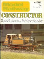 Model Railway Constructor Beeson locomotives Southwold coaches Cholsey station