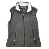 Patagonia Synchilla Women's Vest Gray Size Small