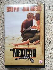 THE MEXICAN SELL THRU VHS PAL UK VIDEO BRAD PITT JULIA ROBERTS JAMES GANDOLFINI