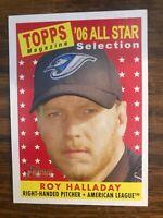 2007 Topps Heritage  #493 Roy Halladay Toronto Blue Jays  NrMt