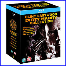 CLINT EASTWOOD - DIRTY HARRY COLLECTION *** BRAND NEW BLURAY** REGION FREE