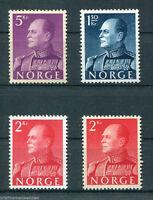 Norwegen 431, 429 y , 430 x + y  postfrisch MNH 1959 Michel 79,00 Euro