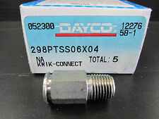 Poly-Flow Stainless Body With Male Pipe 3/8 X 1/4