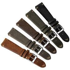 Geckota® Premium  Winstone (MKII) Vintage Leather Watch Strap 20mm 22mm