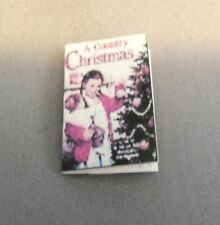 Dollhouse Miniature 1:12 Scale A Country Christmas Book