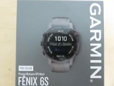 NEW * Garmin FENIX 6S SAPPHIRE GPS Watch * CARBON GRAY * 010-02159-24