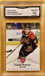 2014-15 ITG In The Game #21 - Connor McDavid - Rookie - GMA 10 Gem Mint