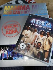 Das ABBA Set Hochwertiges Buch Sowie DVD Nicht Nur Für Fans Neu