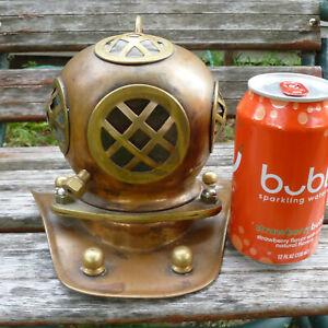Copper Brass Diving Helmet Nautical Decor