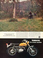 1970 Yamaha 90 Enduro Motorcycle Bike Original Advertisement Print Art Ad PE12