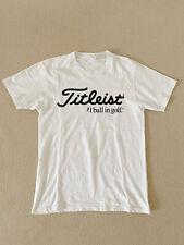 Hot Editions Titleist G0lf Logo Men's Clothing Fashion Short Sleeve T shirt