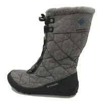 Columbia Women Size 8 Minx Mid II Omni Heat Gray Waterproof Boot #BL1625-052
