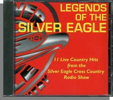 Legends of The Silver Eagle (1997) - Live Country Stars, New CD! w Roger Miller!
